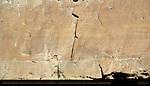 North Wall Petroglyphs, Petroglyph Trail Chetro Ketl to Pueblo Bonito, Chaco Culture National Historical Park, Chaco Canyon, Nageezi, New Mexico