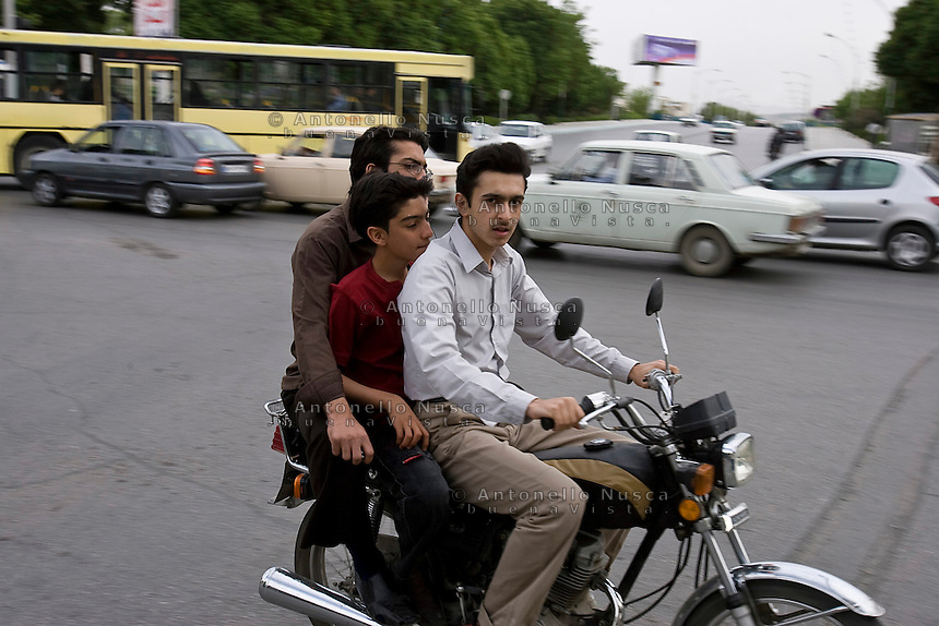 Normal life in Isfahan, Iran May  2007.