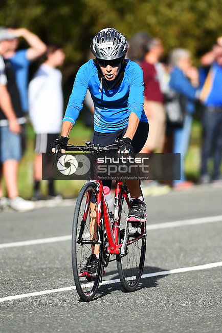 NELSON, NEW ZEALAND - APRIL 3: 29th Edition of the McFadden McMeeken Phillips Nelson Women`s Triathlon on April 3, 2016 in Nelson, New Zealand. (Photo by: Chris Symes/Shuttersport Limited)
