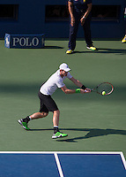 Andy Murray Backhand First Serve Return
