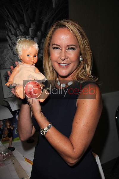 """Erin Murphy with vintage Tabatha Doll<br /> """"Bewitched"""" Fan Fare Day 4, Sportsman's Lodge, Studio City, CA 09-20-14<br /> David Edwards/DailyCeleb.com 818-249-4998"""