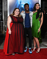 "11 April 2019 - Westwood, California - Chrissy Metz, Niles Fitch, Mandy Moore. ""Breakthrough"" Los Angeles Premiere held at Regency Village Theater. Photo Credit: Birdie Thompson/AdMedia"