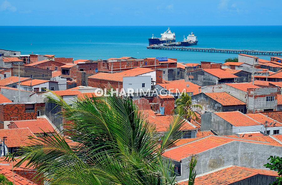 Casas pobres, Bairro Varjota no centro de Fortaleza, Ceara. 2018. Foto de Juca Martins