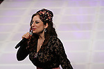 Singer Sinem Saniye Performs At Couture Fashion Week Fall 2013 Collections- Kristin Costa Runway Show, The New Yorker Grand Ballroom, NY 2/17/13