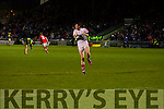 Kerry in action against Cork in the U-21 Munster Football Final at Austin Stack Park, Tralee on Thursday evening.