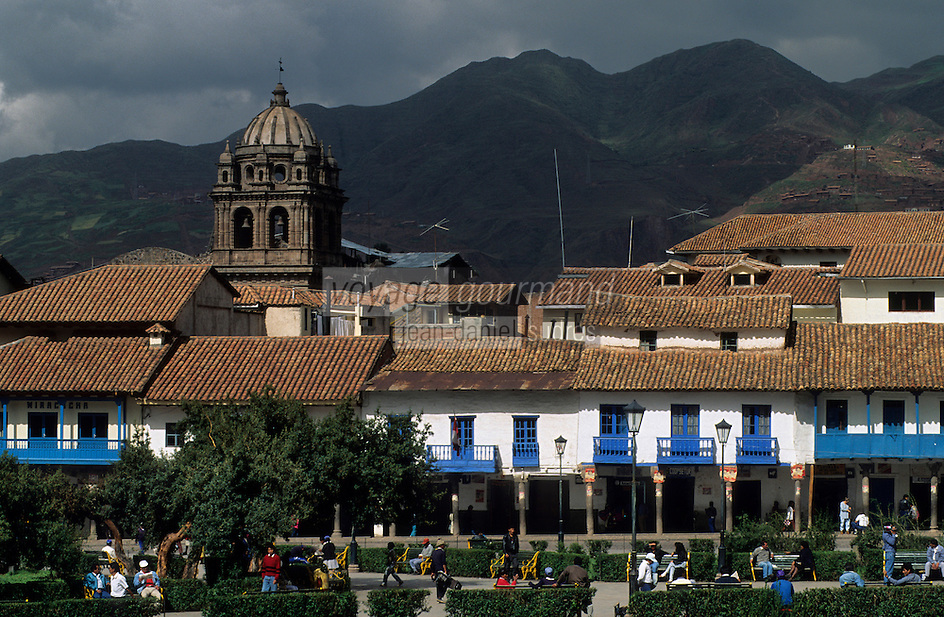 Amérique/Amérique du Sud/Pérou/Cuzco : Plaza de Armas