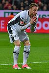 10.03.2018, BayArena, Leverkusen , GER, 1.FBL., Bayer 04 Leverkusen vs. Borussia Moenchengladbach<br /> im Bild / picture shows: <br /> Josip Drmic (Gladbach #18),  verschiesst und aergert sich <br /> <br /> <br /> Foto &copy; nordphoto / Meuter