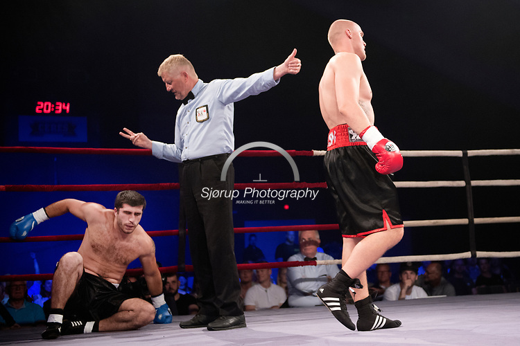 Danish Fight Night i Ceres Arena Aarhus <br /> Ditlev Rossing (Denmark) vs Davit Rabikoni (Georgien)