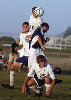 Boys Soccer vs Central Catholic 9-16-09