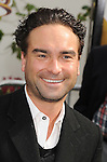 "Universal City, CA - March 27: Johnny Galecki arrives at the Los Angeles premiere of ""Hop"" at Universal Studios Hollywood on March 27, 2011 in Universal City, California."