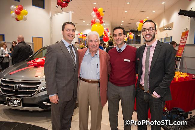 Frank Leta Honda-Acura dealership event in O'Fallon, MO on Dec 18, 2013.