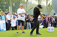 Matt Wallace (ENG) during the final round of the Volvo China Open played at Topwin Golf and Country Club, Huairou, Beijing, China 26-29 April 2018.<br /> 29/04/2018.<br /> Picture: Golffile | Phil Inglis<br /> <br /> <br /> All photo usage must carry mandatory copyright credit (&copy; Golffile | Phil Inglis)