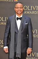 Cuba Gooding Jr. at the Olivier Awards 2018, Royal Albert Hall, Kensington Gore, London, England, UK, on Sunday 08 April 2018.<br /> CAP/CAN<br /> &copy;CAN/Capital Pictures<br /> CAP/CAN<br /> &copy;CAN/Capital Pictures