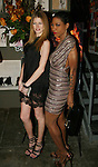 "Heide Lindgren and Suzanne ""Africa"" Engo attend MARC BOUWER's EXCLUSIVE SCREENING of the FW2010 film starring CANDICE SWANEPOEL at the Leo Kesting Gallery, New York- -February 18, 2010"