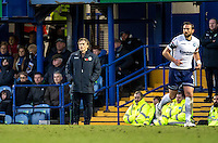 Wycombe Wanderers Manager Gareth Ainsworth during the FA Cup 1st round match between Portsmouth and Wycombe Wanderers at Fratton Park, Portsmouth, England on the 5th November 2016. Photo by Liam McAvoy.