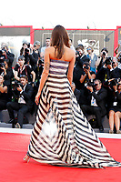 VENICE, ITALY - AUGUST 30: Isabeli Fontana arrives at the 'Downsizing' premiere and Opening of the 74th Venice Film Festival at the Palazzo del Cinema on August 30, 2017 in Venice, Italy.  (Photo by John Rasimus) /MediaPunch ***FRANCE, SWEDEN, NORWAY, DENARK, FINLAND, USA, CZECH REPUBLIC, SOUTH AMERICA ONLY***