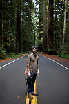 A roadtrip from Seattle, Washington, up around the Olympic Peninsula down the coast to Big Sur, California.