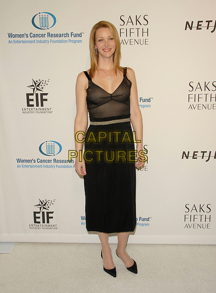 LISA KUDROW.The Saks Fifth Avenue's Unforgettable Evening benefiting The EIF Women's Cancer Research Fund,Honoring Melissa Etheridge held at The Regent Beverly Wilshire Hotel in Beverly Hills, California, USA..March 1st, 2006.Ref: DVS.full length black top sheer skirt dress.www.capitalpictures.com.sales@capitalpictures.com.Supplied By Capital PIctures
