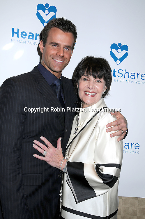 "Cameron Mathison and Linda Dano.at The HeartShare Human Services of New York Spring Gala and Auction on April 8, 2008 at The Marriott .Marquis Hotel in New York City. Cameron Mathison of ""All My Children""  and Tony Sirico of ""The Sopranos"" were honored. ..Robin Platzer, Twin Images"