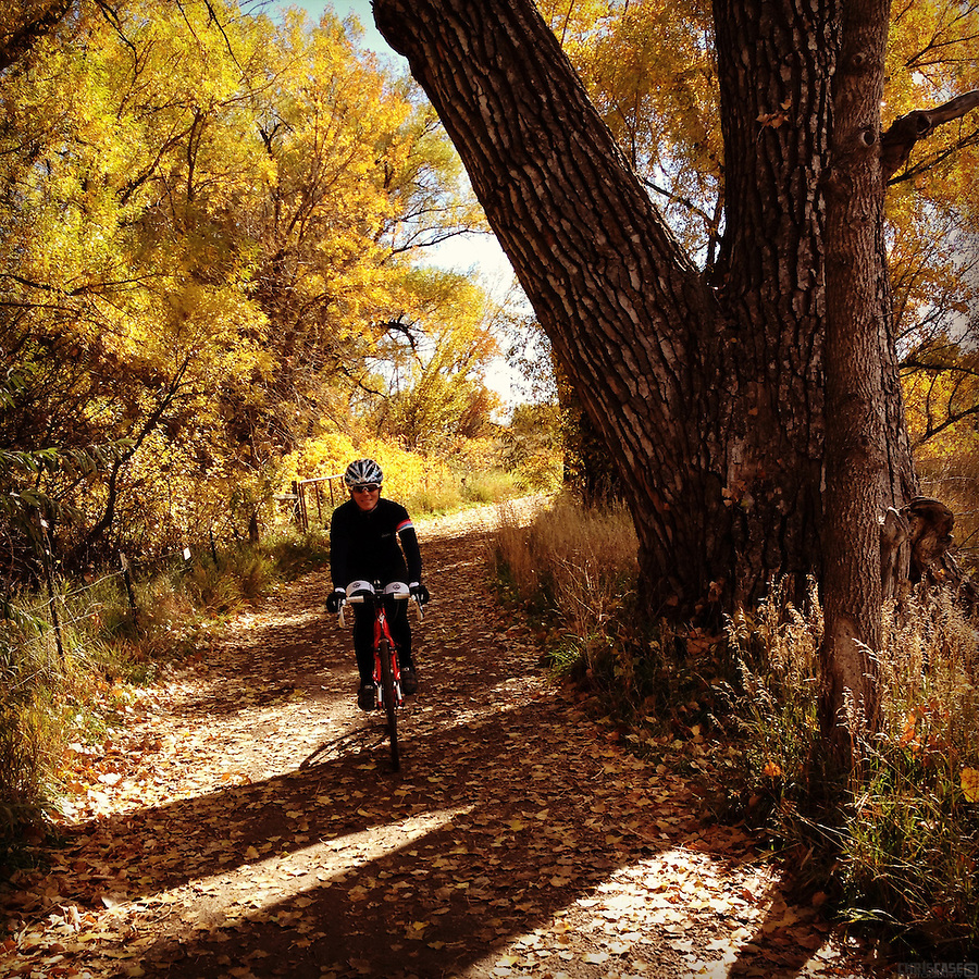 Riding the trails of north Boulder County, Colorado.