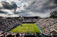Ambience<br /> <br /> Tennis - The Championships Wimbledon  - Grand Slam -  All England Lawn Tennis Club  2013 -  Wimbledon - London - United Kingdom - Tuesday 25th June  2013. <br /> &copy; AMN Images, 8 Cedar Court, Somerset Road, London, SW19 5HU<br /> Tel - +44 7843383012<br /> mfrey@advantagemedianet.com<br /> www.amnimages.photoshelter.com<br /> www.advantagemedianet.com<br /> www.tennishead.net