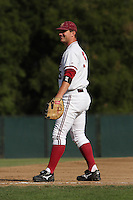30 May 2008: Stanford Cardinal Brent Milleville during Stanford's 4-2 loss against the UC Davis Aggies in game 1 of the NCAA Stanford Regional at Sunken Diamond in Stanford, CA.