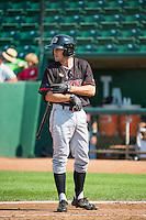 Mitch Piatnik (19) of the Billings Mustangs at bat against the Ogden Raptors in Pioneer League action at Lindquist Field on August 16, 2015 in Ogden, Utah. Billings defeated Ogden 6-3.  (Stephen Smith/Four Seam Images)