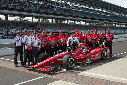 21-22 May, 2016, Indianapolis, Indiana, USA<br /> Graham Rahal  qualifying photo<br /> ©2016, Geoffrey M. Miller, LAT Photo USA