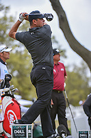 Gary Woodland  (USA) watches his tee shot on 12 during day 3 of the World Golf Championships, Dell Match Play, Austin Country Club, Austin, Texas. 3/23/2018.<br /> Picture: Golffile | Ken Murray<br /> <br /> <br /> All photo usage must carry mandatory copyright credit (&copy; Golffile | Ken Murray)