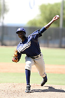 Jose De Paula - San Diego Padres - 2010 Instructional League.Photo by:  Bill Mitchell/Four Seam Images..