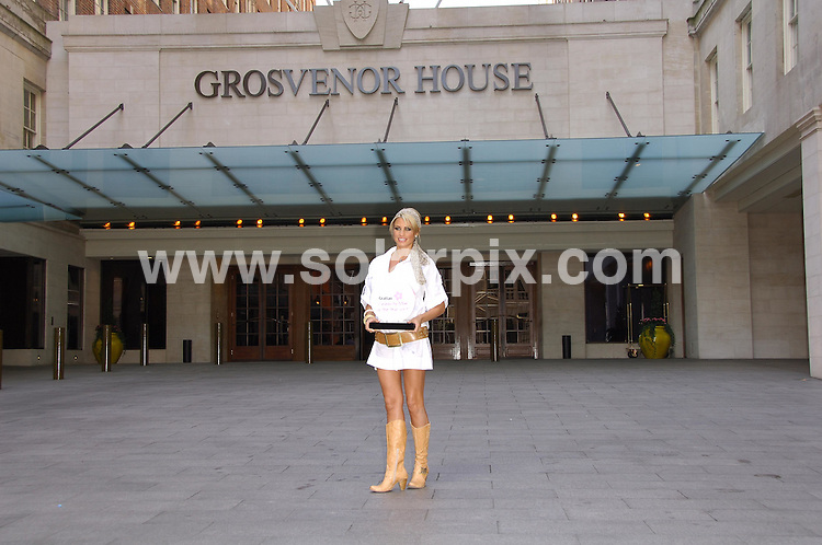 **ALL ROUND PICTURES FROM SOLARPIX.COM**.**WORLDWIDE SYNDICATION RIGHTS**.Katie Price outside the Grosvenor Hotel in London for Grattan celebrity mum of the year 2007 who came first above other contestants such as Jade Goody,heather Mills,Victoria Beckham..JOB REF:3515-MSR    DATE:16_03_07 .**MUST CREDIT SOLARPIX.COM OR DOUBLE FEE WILL BE CHARGED* *UNDER NO CIRCUMSTANCES IS THIS IMAGE TO BE REPRODUCED FOR ANY ONLINE EDITION WITHOUT PRIOR PERMISSION*