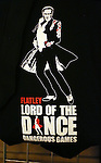 Michael Flatley merchandise at the Broadway Opening and dedut of 'Lord of the Dance: Dangerous Games' at The Lyric Theatre on November 10, 2015 in New York City.