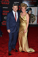 "Andy Serkis & Lorraine Ashbourne  at the world premiere for ""Star Wars: The Last Jedi"" at the Shrine Auditorium. Los Angeles, USA 09 December  2017<br /> Picture: Paul Smith/Featureflash/SilverHub 0208 004 5359 sales@silverhubmedia.com"