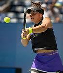 Bianca Andreescu (CAN) defeated Caroline Wozniacki (DEN) 6-4, 6-4