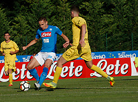 Marko Rog  of Napoli during a preseason friendly soccer match against Aunania in Dimaro's Stadium   12 July 2017