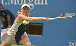 Caroline Wozniacki (DEN) defeats Jamie Loeb (USA)  6-2, 6-0