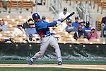 Gordon Beckhan of Chicago Cubs ,during Cactus League ,Cubs vs Dodgers. Spring Trainig 2013..Camelback Ranch  in Arizona. February 25, 2013 ...© stringer/NortePhoto