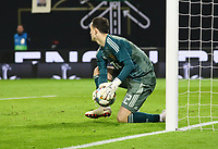 Torwart Andrey Lunev (Russland, Russia) - 15.11.2018: Deutschland vs. Russland, Red Bull Arena Leipzig, Freundschaftsspiel DISCLAIMER: DFB regulations prohibit any use of photographs as image sequences and/or quasi-video.