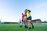 Picture by Allan McKenzie/SWpix.com - 10/05/2018 - Rugby League - Ladbrokes Challenge Cup - Featherstone Rovers v Hull FC - LD Nutrition Stadium, Featherstone, England - Carlos Tuimavave leaves the field injured.