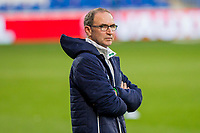 Team manager Martin O'Neil during Republic of Ireland training ahead of the World Cup Qualification match against Wales at Cardiff City Stadium, Cardiff, Wales on 8 October 2017. Photo by Mark  Hawkins.