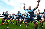 Botany Downs celebrate. Auckland 1B 1st XV Final, Botany Downs v One Tree Hill, Eden Park Auckland, New Zealand, Saturday 26 Auguat 2017. Photo: Simon Watts/www.bwmedia.co.nz
