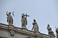 CIUDAD DEL VATICANO- 01-09-12. Basílica de San Pedro en La Ciudad del Vaticano, Italia, septiembre 01 2012. St. Peter Cathedral in Vatican City on September 01,2012.(Photo: VizzorImage/Luis Ramirez)........