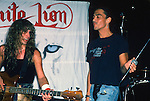 James Lomenzo & Stephen Pearcy performing live at The Roxy in Hollywood, 1987