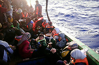 Mediterranean sea: Alyehya family were on boat with 230 other people in order to reach europe from Alexandria, Egypt. The boat was 12meter long and they survived to a 6 days trip to arrive near Odessa in Italy. After 3 days of travel, they ran out of water and food.