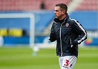 Bolton Wanderers' Andrew Taylor warming up before the match  <br /> <br /> Photographer Andrew Kearns/CameraSport<br /> <br /> The EFL Sky Bet Championship - Wigan Athletic v Bolton Wanderers - Saturday 16th March 2019 - DW Stadium - Wigan<br /> <br /> World Copyright &copy; 2019 CameraSport. All rights reserved. 43 Linden Ave. Countesthorpe. Leicester. England. LE8 5PG - Tel: +44 (0) 116 277 4147 - admin@camerasport.com - www.camerasport.com