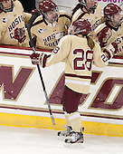 Kate Leary (BC - 28) - The Boston College Eagles defeated the visiting University of Maine Black Bears 10-0 on Saturday, December 1, 2012, at Kelley Rink in Conte Forum in Chestnut Hill, Massachusetts.