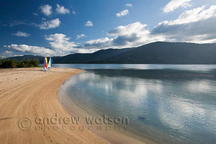 Beach at Double Island.  Palm Cove, Cairns, Queensland, Australia
