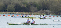 Caversham. Berkshire. UK<br /> Men's Pair Semi Final, Bow Matt ROSSITER and Cameron BUCHAN out front in the semi final A/B2.<br /> 2016 GBRowing U23 Trials at the GBRowing Training base near Reading, Berkshire.<br /> <br /> Tuesday  12/04/2016<br /> <br /> [Mandatory Credit; Peter SPURRIER/Intersport-images]<br /> 2016 GBRowing U23 Trials at the GBRowing Training base near Reading, Berkshire.<br /> <br /> Tuesday  12/04/2016<br /> <br /> [Mandatory Credit; Peter SPURRIER/Intersport-images]