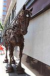 IRON HORSE SCULPURE