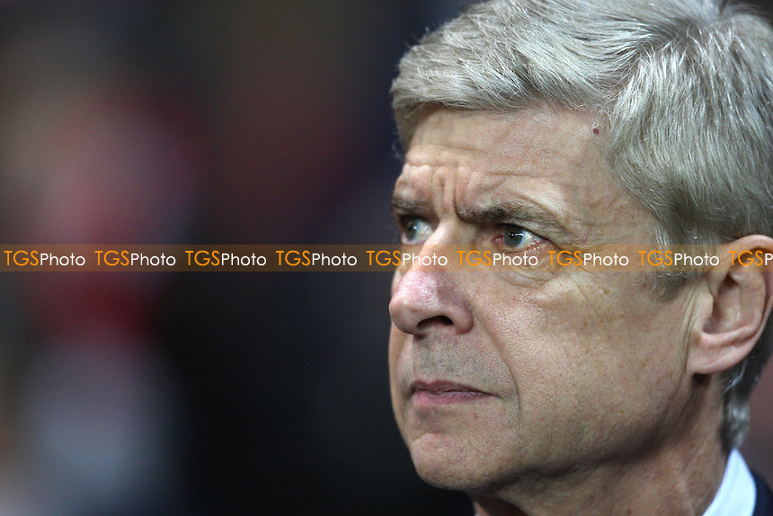 Arsenal manager Arsene Wenger - Arsenal vs Montpellier, Champions League Group Stage at The Emirates Stadium, Arsenal - 21/11/12 - MANDATORY CREDIT: Rob Newell/TGSPHOTO - Self billing applies where appropriate - 0845 094 6026 - contact@tgsphoto.co.uk - NO UNPAID USE.
